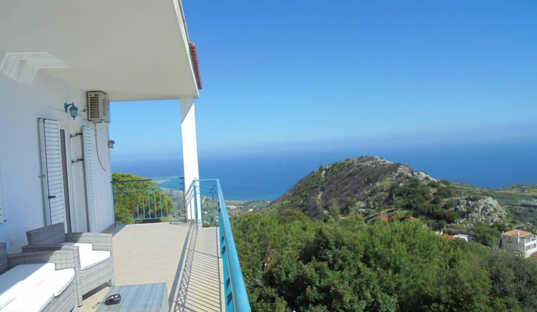 Villa in Markopoulo veranda
