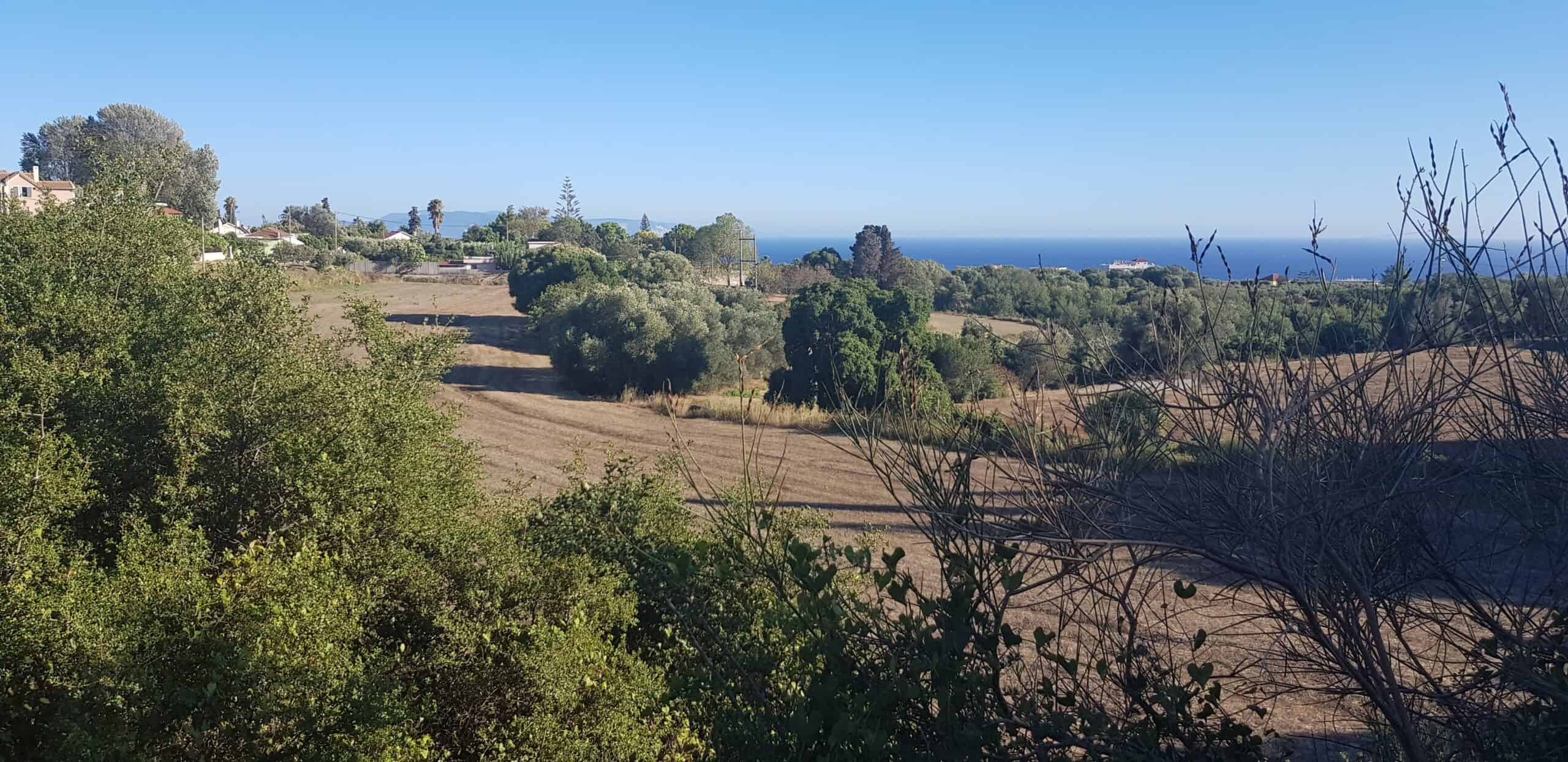 Plot for sale in Kourkoumelata with panoramic views