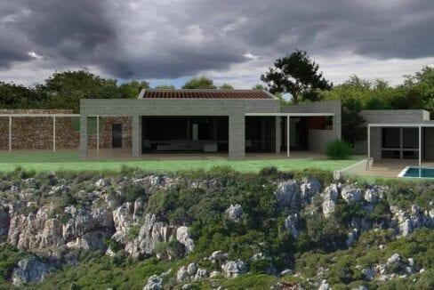 Villa in Koutavos_views